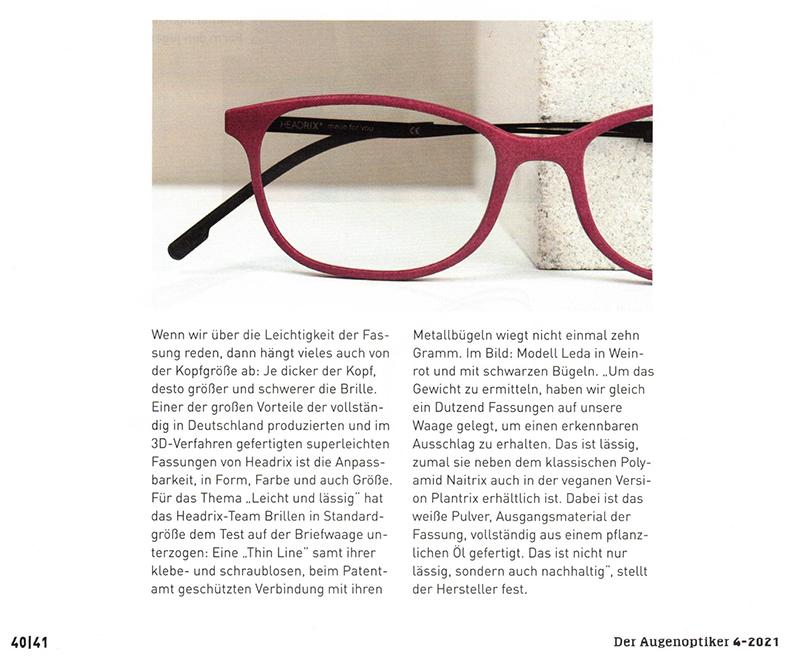 Der Augenoptiker 04-2021